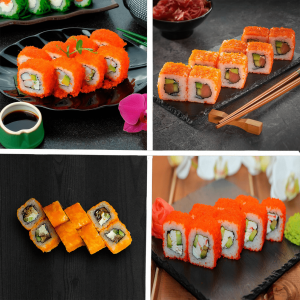 акція на суши Житомир, сет акція Ом Ном Ном суши